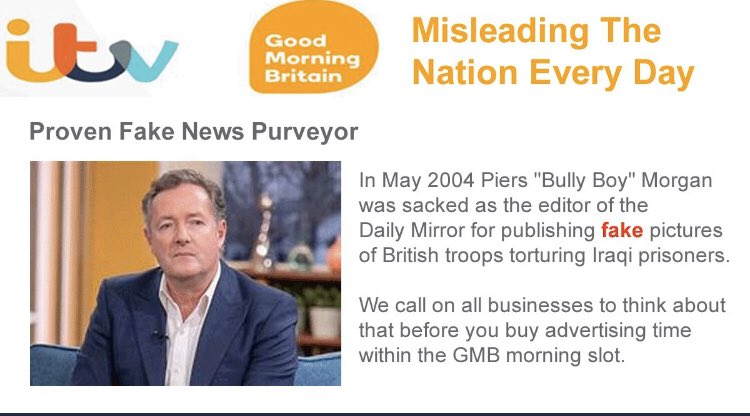 DID you know by April 24 @piersmorgan @GMB viewer numbers had collapsed down to 704,300. That is a 42.8% drop in people tuning in to hear piers hysterically ranting. He's lost Trump & Alan Sugar as Twitter followers & almost lost 1/2 of his Tv audience. TODAY HE HAS LOST MANY👇
