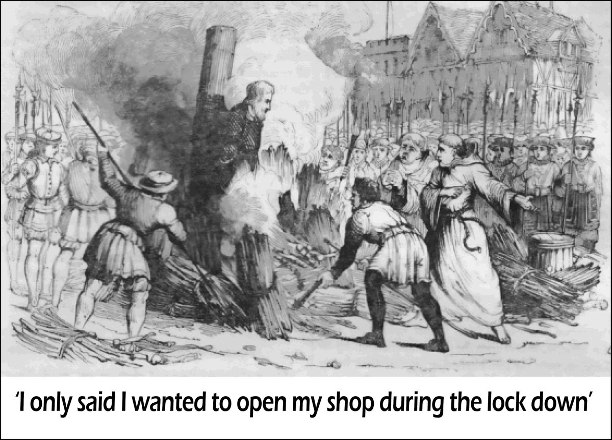 I only said I wanted to reopen my shop! Covid-19 opinion: the lock down doctrine is flawed as without a healthy economy there isn't a healthy country.  #covid19 #furloughing #theeconomy #thelockdown #insolvency #bankruptcy #recession