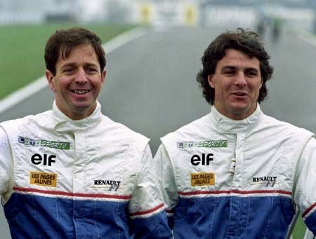 Wishing my good buddy Martin Brundle @MBrundleF1 a very Happy Birthday and thinking back over all the many years we have spent together as team mates, competitors and business partners but most of all as mates! #martinbrundle #f1 #formula1 #motorsports #motorsport https://t.co/2v2gIRQLnK