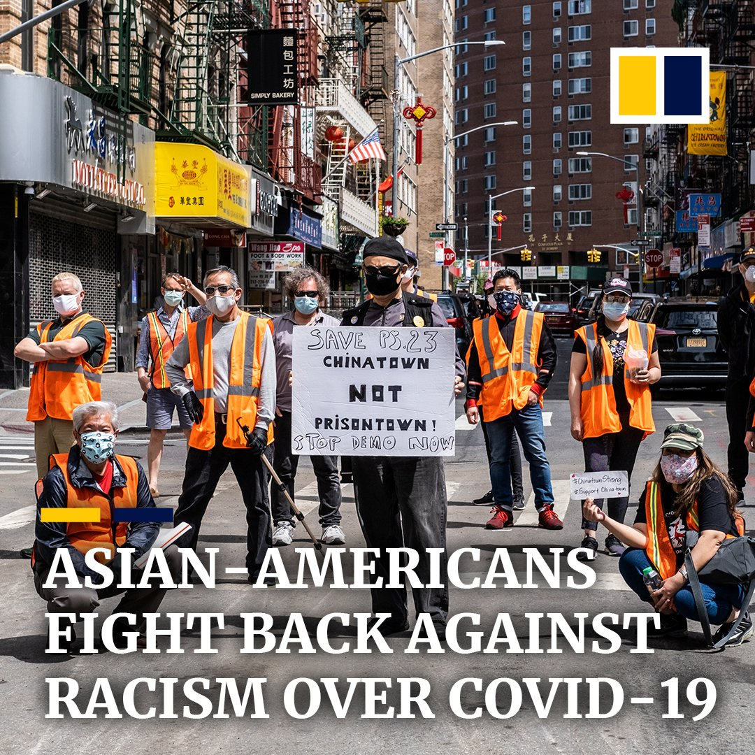 A spike in harassment of Asian-Americans has led community activists in the US to fight back — forming street patrols, rallying on social media, and supporting each other online