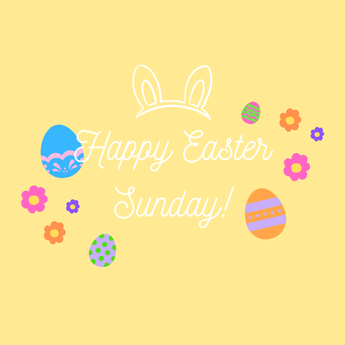 Best wishes as you celebrate this Easter Sunday! #EasterSunday https://t.co/AwZ7Dwa2fc