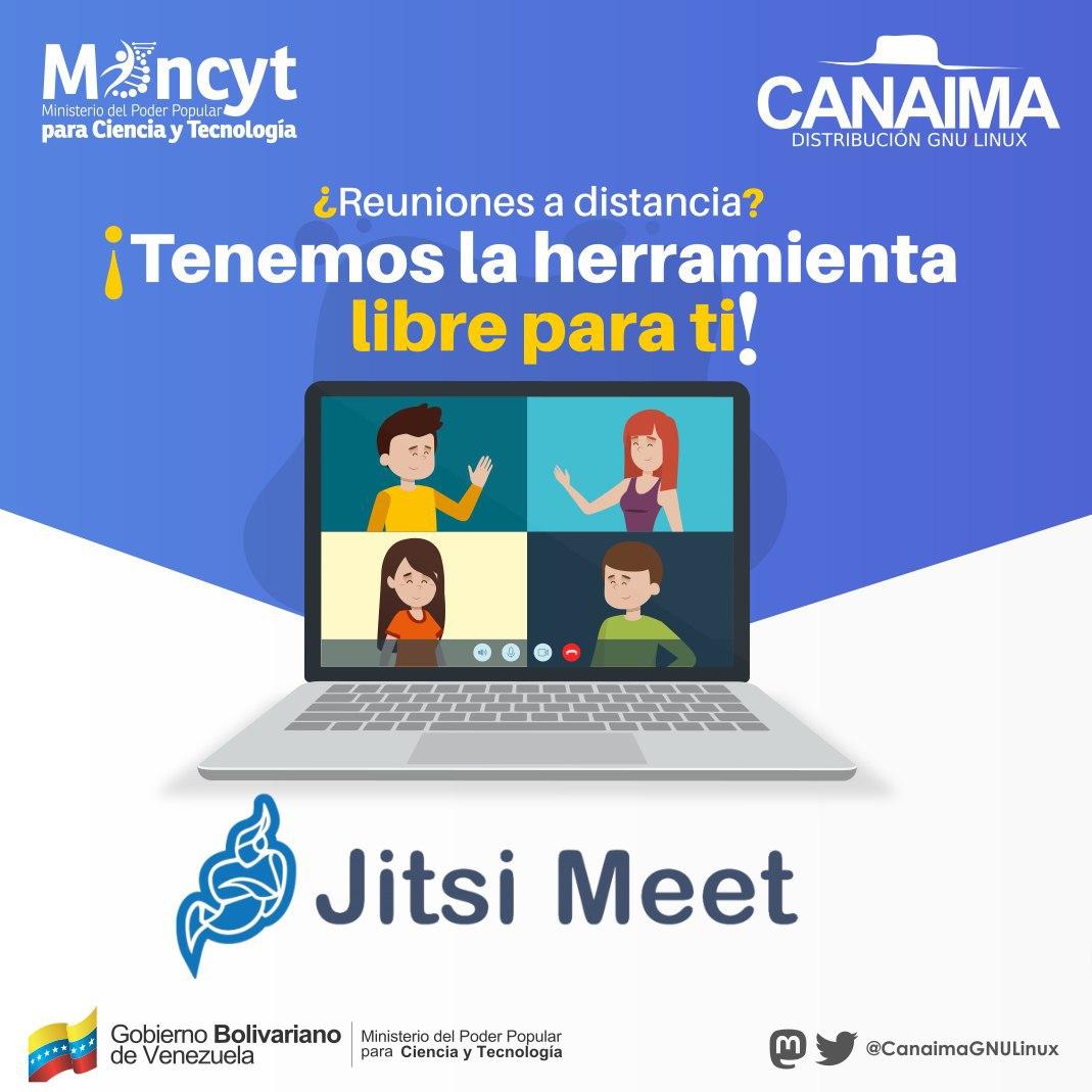 ¿Quieres tener reuniones Online seguras y en un formato libre? Hoy te presentamos a #JitsiMeet y sus beneficios. #SaludoPlanetario