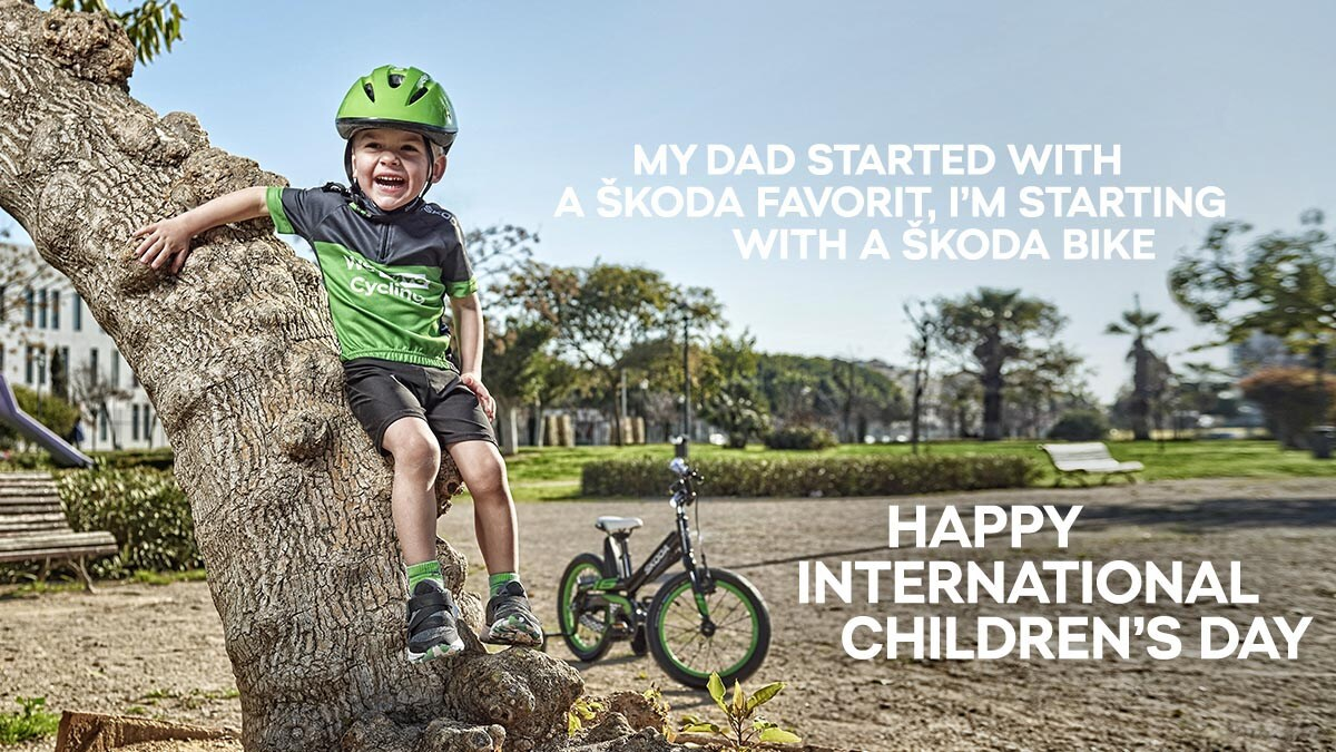 What vehicle did you start with as a child? Happy #ChildrensDay from all of us at #SKODA Communications!  pic.twitter.com/I5JyMkYBnw