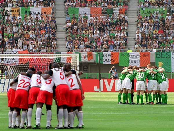 On 1st June 2002 I was covering my first match of the World Cup in Niigata - Cameroon v Ireland.