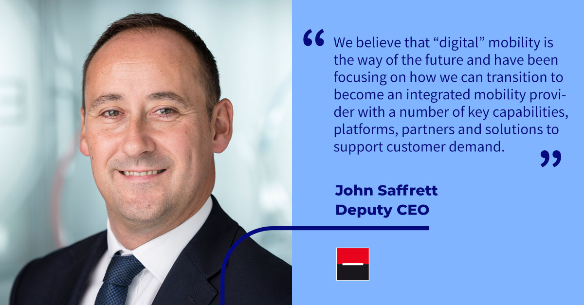 ".@JohnSaffrett, Deputy CEO of ALD Automotive, talks about how a leasing company needs to ""build muscle"" to create a truly digital customer experience with Autovista's Chief Economist, Christof Engelskirchen. @autovista_group  Click here: https://t.co/rLB7Pf9fer https://t.co/zZQuQh7kYN"
