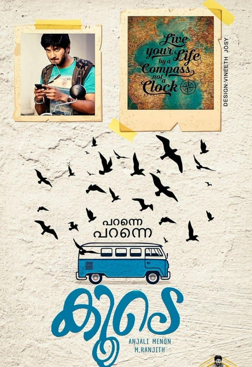 Watched #koode a wonderful film by @AnjaliMenonFilm ma'am! I'm too late to watch this, but I've heard the songs earlier, especially Paranne, my friends used to play this often in room! @Benny_Dayal  #koode #malayalamfilm pic.twitter.com/LGH3zKPVR8