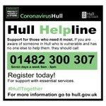 Image for the Tweet beginning: As part of #HullHelpline we've