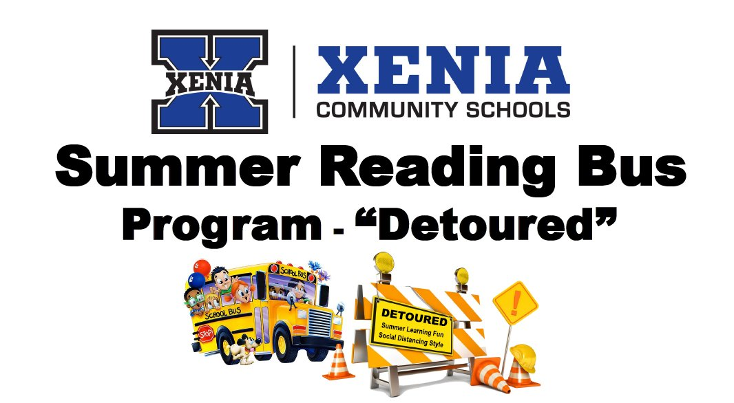 Registration for Summer Reading Bus: Detour 2020 is officially OPEN! Learn more about this five week program for K-5 students and register by the deadline: Friday, June 5. buff.ly/2XJsCl2