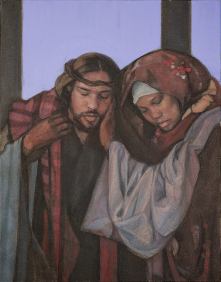 """Gospel: Today on the Feast of the Mother of the Church, we read of Mary standing by the Cross as her son cried out, """"I thirst"""" as he died (Jn 19). Think of #GeorgeFloyd crying out """"Water!"""" If you weep for Jesus on the Cross, but not for Mr. Floyd, then you are missing the point."""