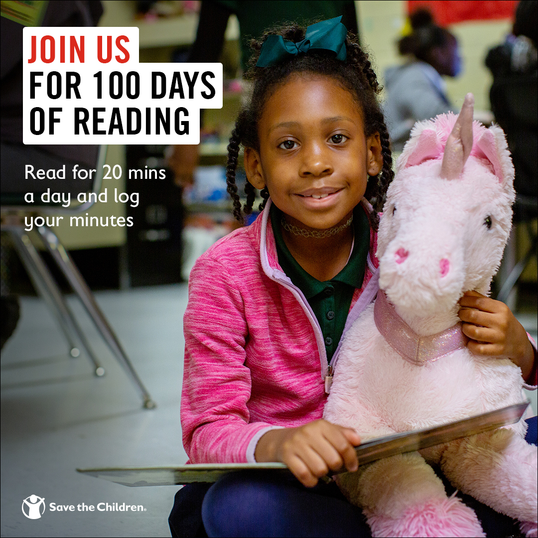 Did you know that millions of American children don't own a book? You can help change this by joining us for #100DaysofReading!   Simply read and log your minutes – every minute added will unlock books and educational resources for kids in need:  https://t.co/PM9hAa2XjZ https://t.co/14tsk47070