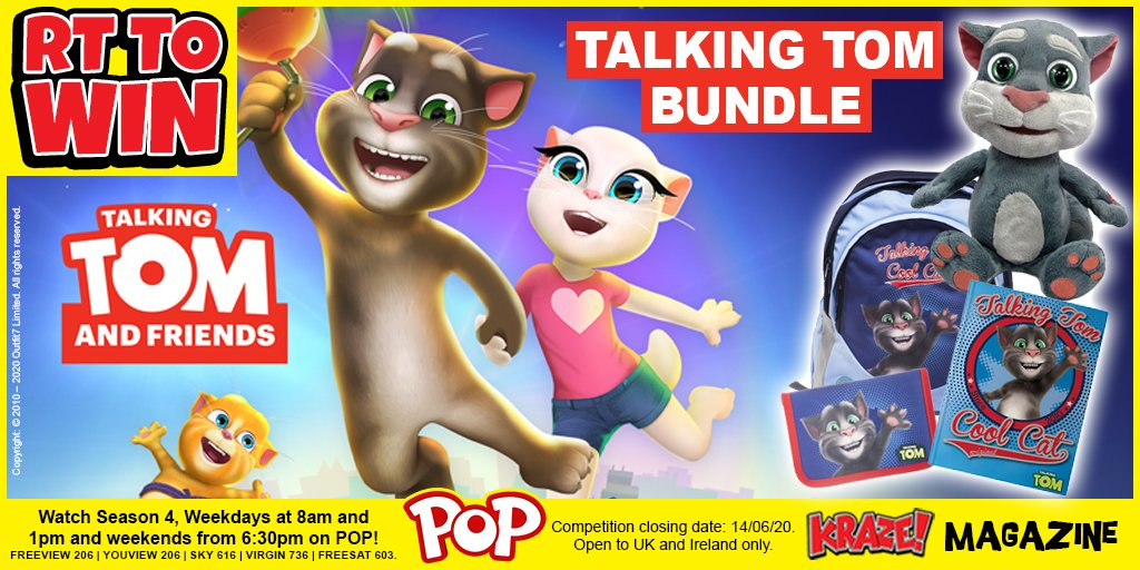 RT for a chance to #win a Talking Tom prize bundle! #comp #competition #giveaway #freebiepic.twitter.com/gJcj3xadln
