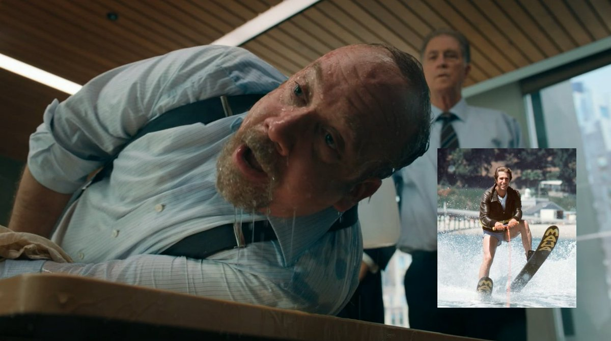 "🎥Did @SHO_Billions ""jump the shark"" w/ waterboarding of Paul Giamatti? (see Fonzie) @AdamCarollaShow?   Torture memos, 2?   IMDB-8+  #water #Showtime #Netflix #AmazonPrimeVideo #PrimeVideo #HBO #tvtime #WFH #WorkFromHome #workout #NBC #CBS #film #movies #Hollywood #tmz #Hulu 🎬"