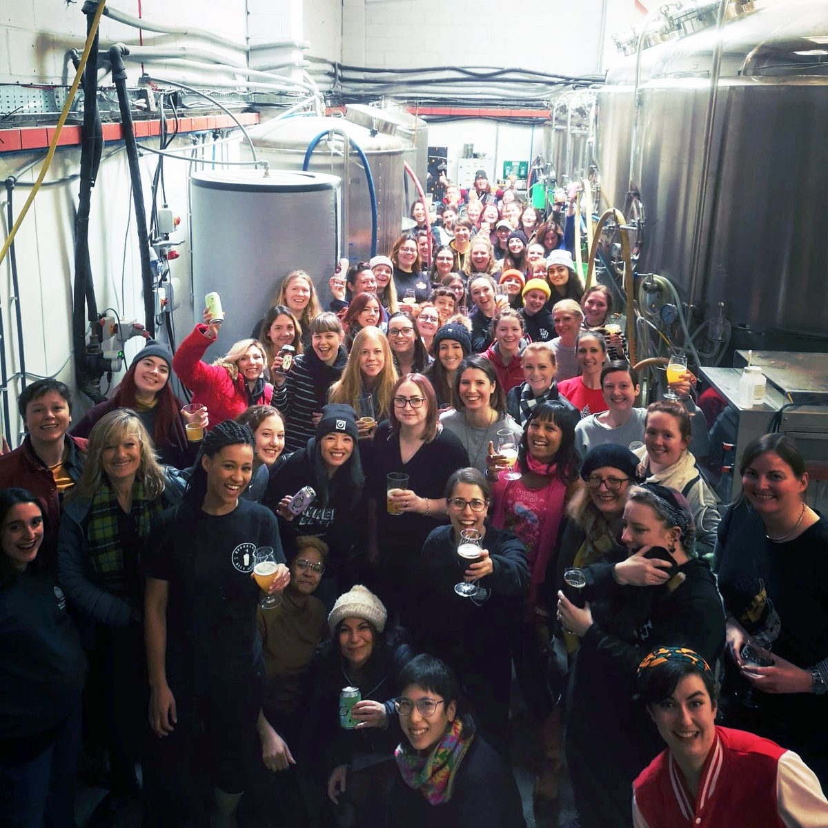 This year's International Women's Day Brew is in tribute to computer programming pioneer Ada Lovelace. Some of the Beer52 team joined the brew day at Wild Card Brewery, full of inspiring women from the industry. #fermentmagazine #beer52 #iwdbrew #internationalwomensday2020 pic.twitter.com/rVt2g6yQEk