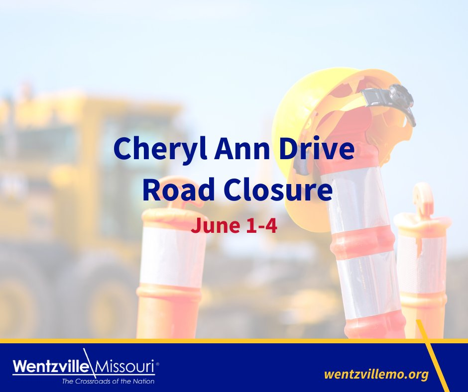 Cheryl Ann Drive will be closed at the West Pearce Boulevard intersection, June 1-4 from 7 a.m. and 3:30 p.m. for a water main installation. West Pearce Boulevard traffic will be restricted to a one lane flagging operation during the hours of construction.pic.twitter.com/QNoOJQVWjc