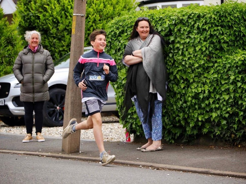 Heres some #MondayMotivation for you! Zane, 11, woke up one morning and declared he was going to run a marathon in memory of his friend Tom. Over the next three days friends and family sponsored him as he ran a short route, again and again. Thank you for raising £1,953 for us.