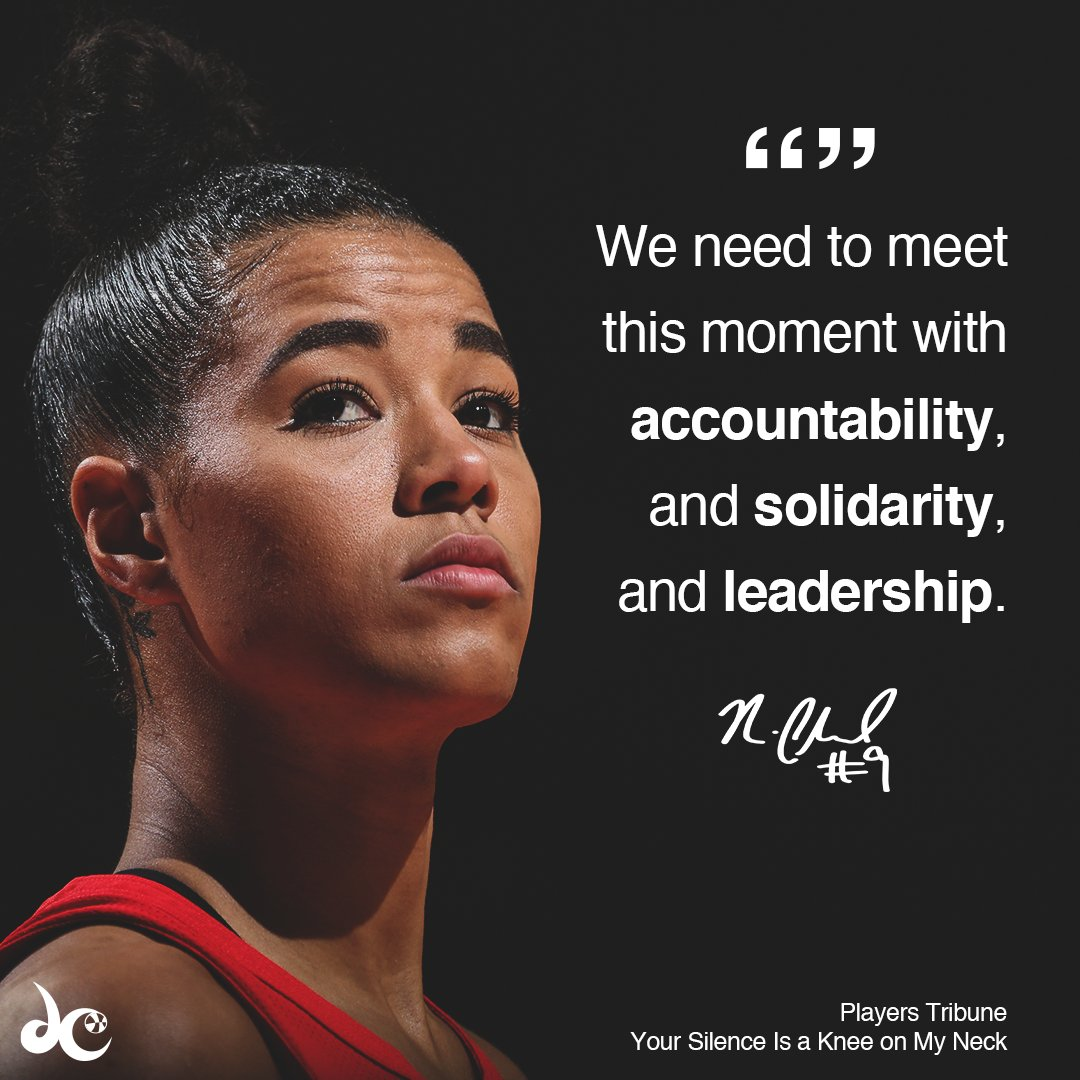 .@T_Cloud4 is using her platform to speak on the social injustices going on.  ➡️ https://t.co/PuzHRR2tG3 https://t.co/QrUoslWQ2V