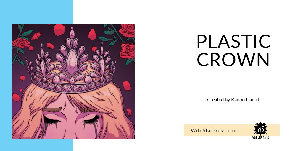 Plastic Crown by @vkdaniel20 is out now! Currently, only for digital purchase.  Digital Books will be through our gumroad page:  https://t.co/ypBCAEvCpN https://t.co/xdDxikQprT