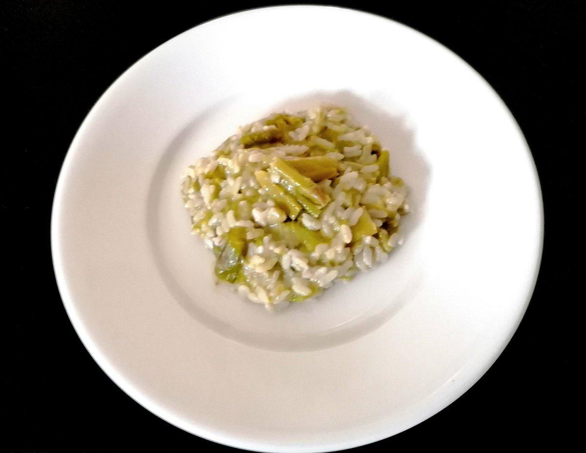 Risotto con asparagi 🍚#lfl #salad #f4f #instadaily @rocket_hastags #instagood #fff #follow4follow #fruits #likeforlike #fun #food #picoftheday #lunchtime  #lunch #instalikesandfollowers4u #me #like4like #enjoy #followforfollow #instalike #water #l4l #mytime #fresh