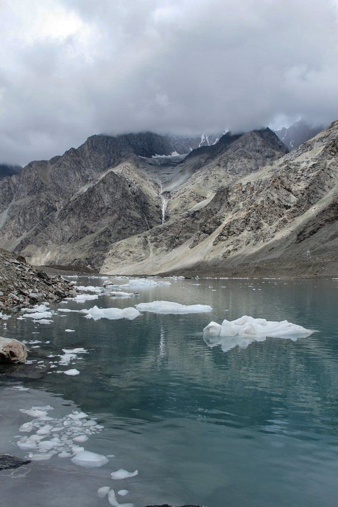 The hardships we go through to reach a destination should shift to leaving zero carbon footprints Our excitement to explore mustn't be a burden on Himalayas Some similar moments with a lake full of icebergs 💚🏔