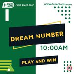 Image for the Tweet beginning: DREAM NUMBER  10 AM 01/06/2020  WINNING NUMBERS-