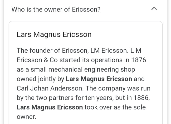 The transformation of a tiny mechwork into connectivity a amazing. The journey of 144 years.. Each and every Ericssonites has to be proud of ...#itisotherside admire of the long journey even to more years ...pic.twitter.com/N4rgWWjKl7