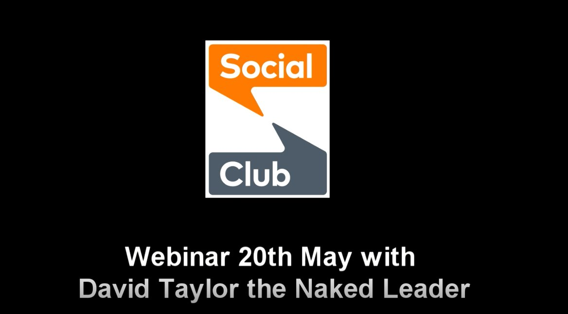 Now on Youtube, the David Taylor @nakedleader webinar: The Seven Most Powerful How-Tos that Strengthen Personal #resilience  Watch now: https://t.co/KrUupsrPBg    #leadership #ceo #charity #SocEnt https://t.co/jyEefPFgd1