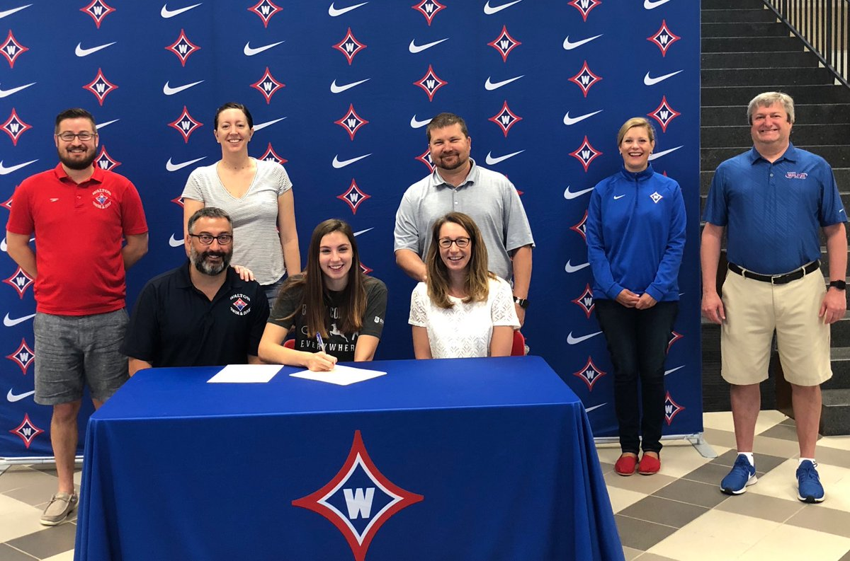 Congrats to swimmer Isabella Decker on her recent signing with Berry College. Go Raiders and Go Vikings!