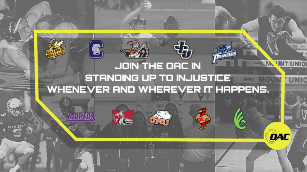 As a proud Div. III athletic conference of the NCAA representing 10 schools w/ outstanding students, faculty, staff & alumni, we stand ready to continue, strengthen, & change, as necessary, our campus cultures to promote inclusion & equity.  Full Statement https://t.co/q8Ts4VqURS https://t.co/SjOVZW6nXE