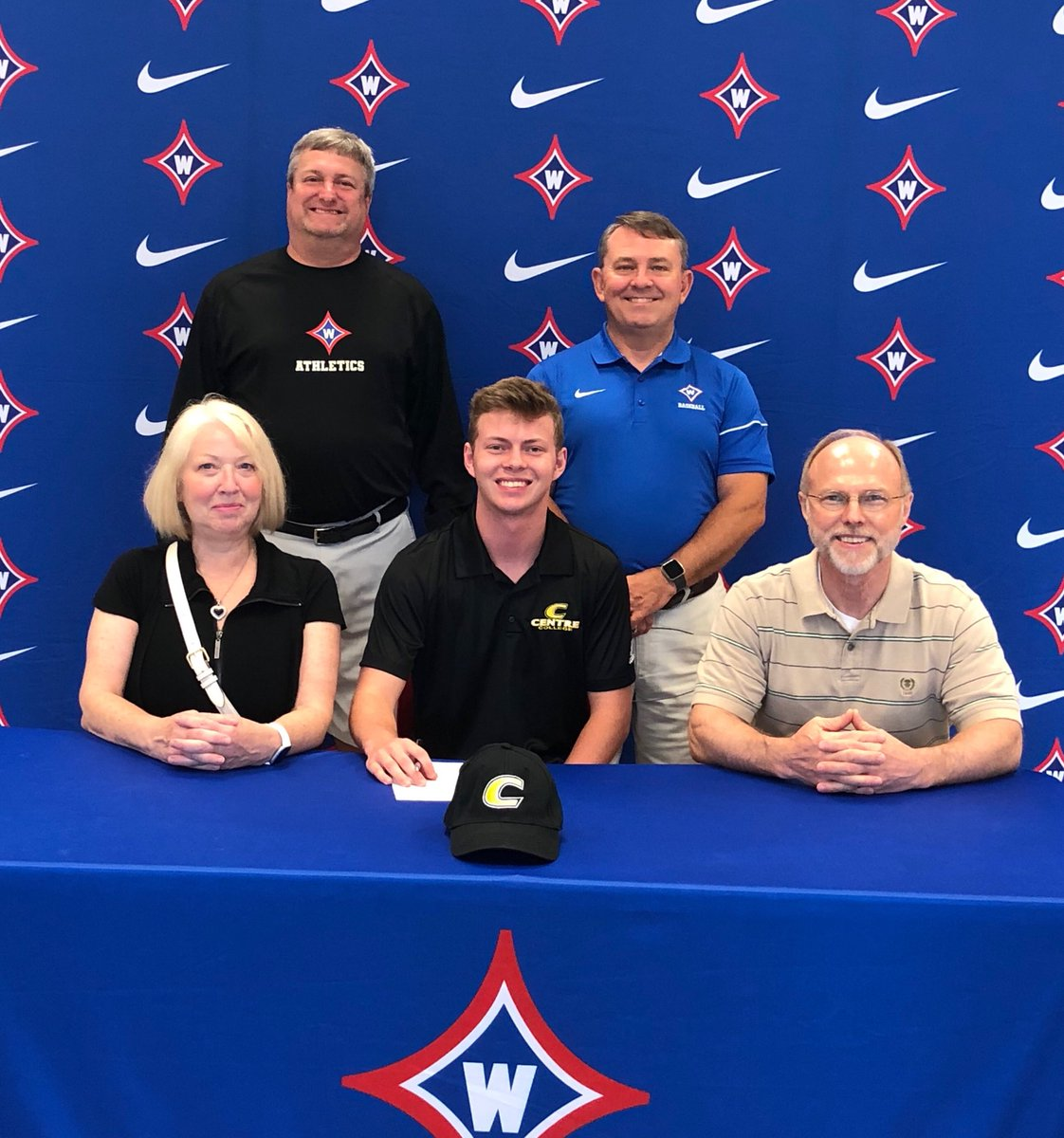Congrats to baseball player David Sickles on his recent signing with Centre College. Go Raiders and Go Colonels!