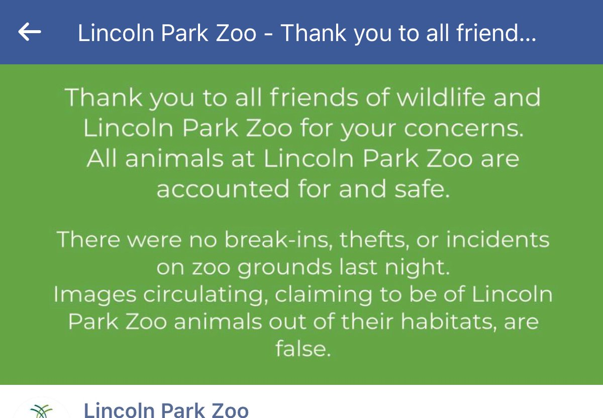 Lincoln park zoo in #chicago has spoken. They said FYM... we got all our animals over here. #chicagolooting #chicagoriotpic.twitter.com/AdQSj0HVpu