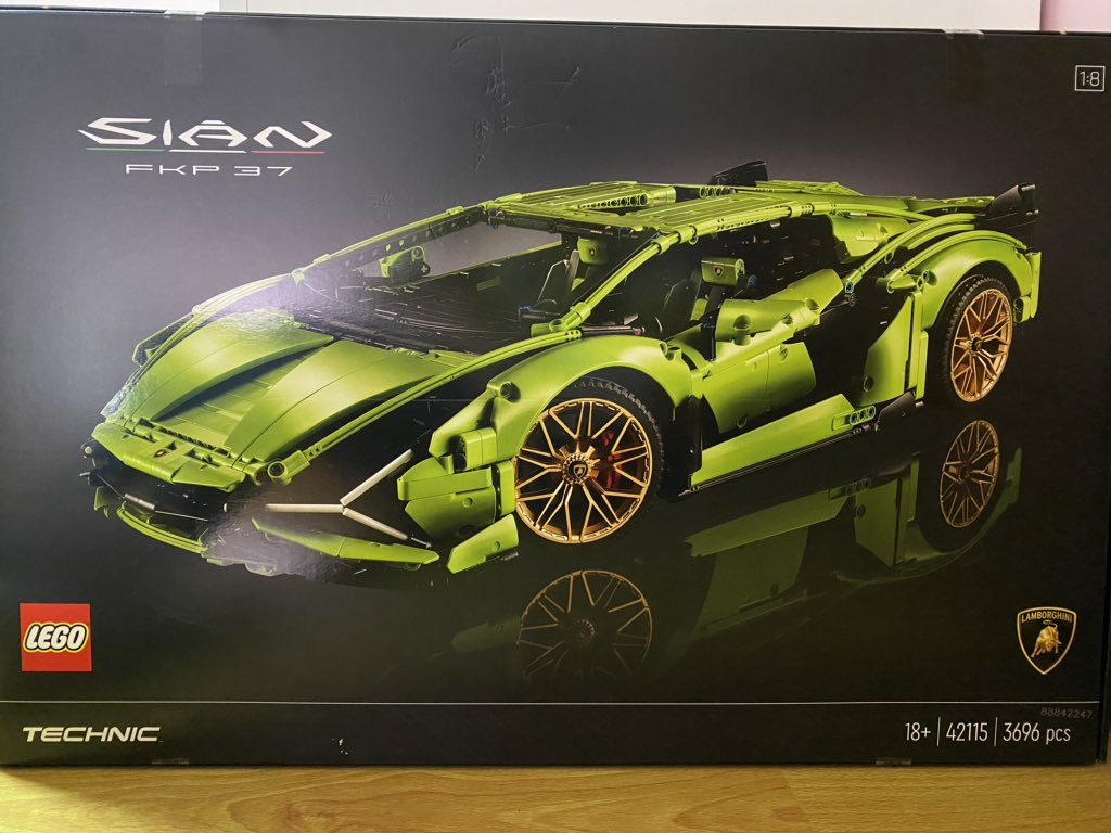 @Lamborghini @LEGO_Group I just bought it :) can't wait https://t.co/ddRtclh7rS