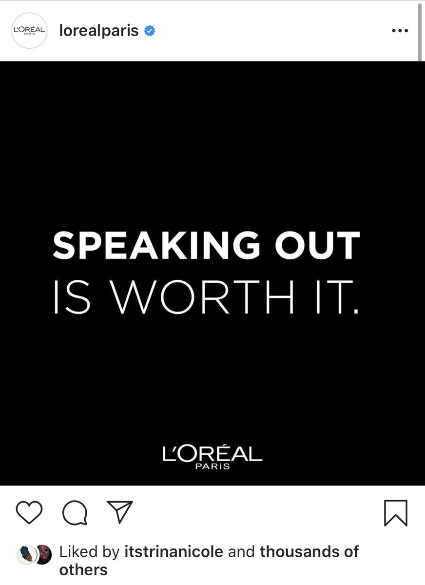 It's not adding up @Loreal???