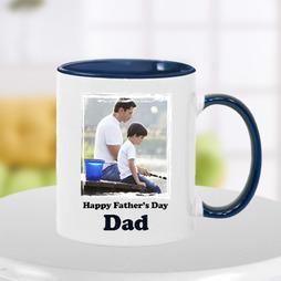 Order Blue Happy Fathers Day Photo Mug -   #ItsIndiagift #FathersDay2020 #FathersDayCakes #Cakes #FathersDayGifts #chocolates