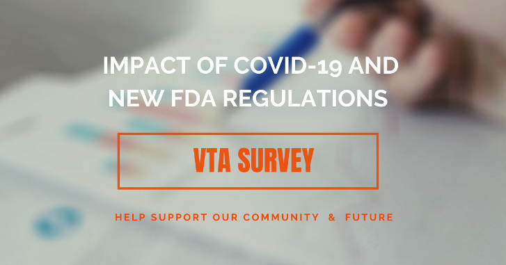 IMPORTANT: As we continue in our fight to #SaveVapor, please take a moment to complete & share this survey. Your participation helps to inform our advocacy efforts as the industry confronts challenges from both COVID-19 and the approaching PMTA deadline: https://t.co/OHzfOzh4zq https://t.co/KzUkynNHIO