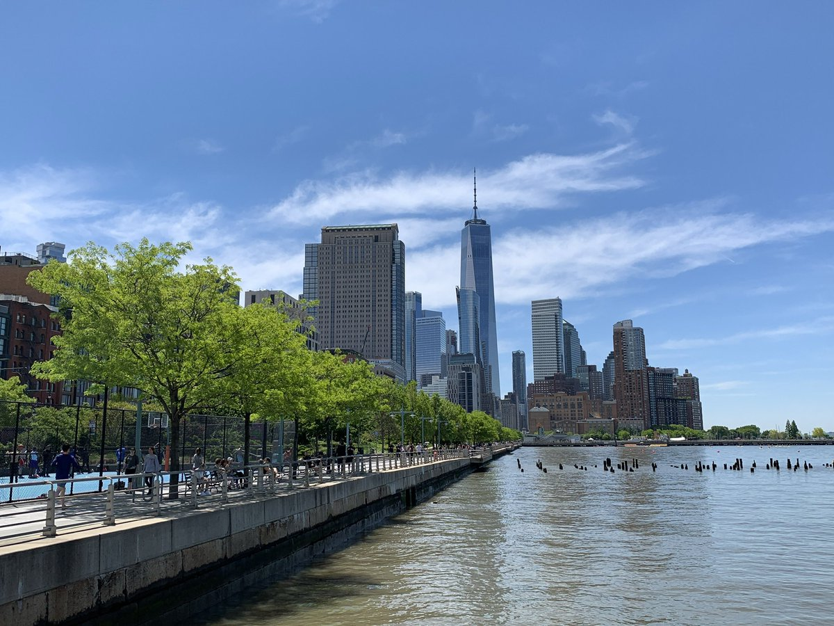 I wasn't able to send all my pals my 2020 Calendar so I will share each month's pictures here. June features a view of One World Trade Center and the Hudson River during my visit last June <br>http://pic.twitter.com/payPYCA5cP
