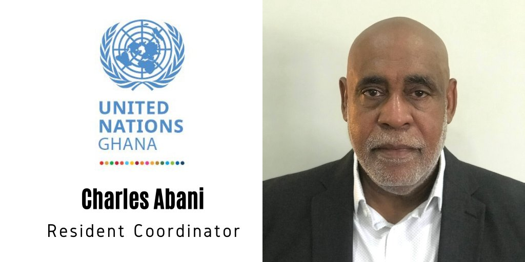 .@antonioguterres has appointed our new @UN🇺🇳 Resident Coordinator in #Ghana🇬🇭. Congratulations @charlesabani! We look forward to working with you and the @UNinGhana as you support the government towards achieving the #GlobalGoals and in tackling COVID bit.ly/Charles-Abani