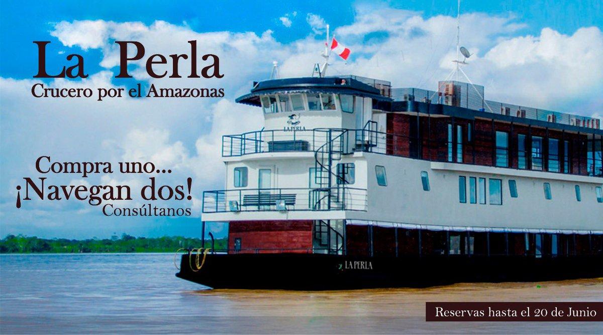 La Perla, Crucero por el Amazonas Compra uno… ¡Navegan dos!  Reservas hasta el 20 de Junio #Perú es un #DestinoAdoha #VolveremosAViajar #AdohaTravelMayorista #Peru #VisitPeru #SelvaAmazonica #Selva #AmazoniaPeruana #Amazonas #YoPlaneoMiViajeConAdohaTravelMayoristapic.twitter.com/S80Fe8Tgso