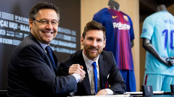📻 [BrujulaDeporte - @Alfremartinezz] | Bartomeu wants to renew Messi's contract that ends in 2021 until 2023.