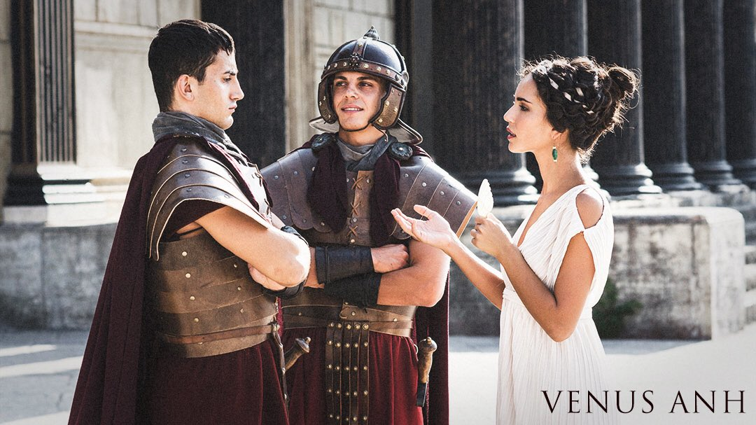Venus Anh  The film  with all 55 cinematic images   #AncientRome #FilmTwitter #PhotographyIsArt #spqr #Rome #Italy #epicpoem #WritersCafe
