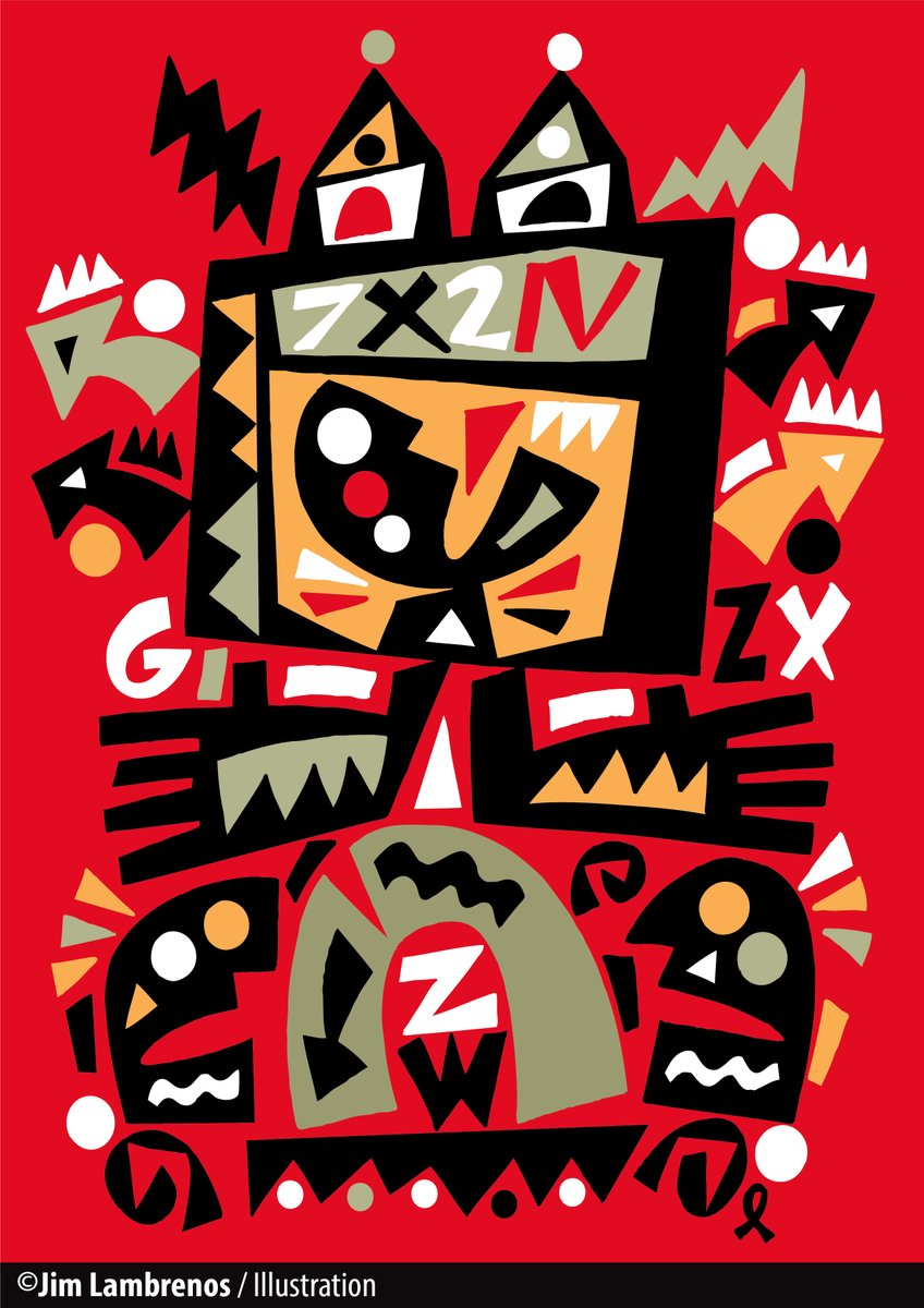 """""""Graphic Soup"""" Art for various printed materials and products #Graphic pic.twitter.com/GlCPN6o3tS"""