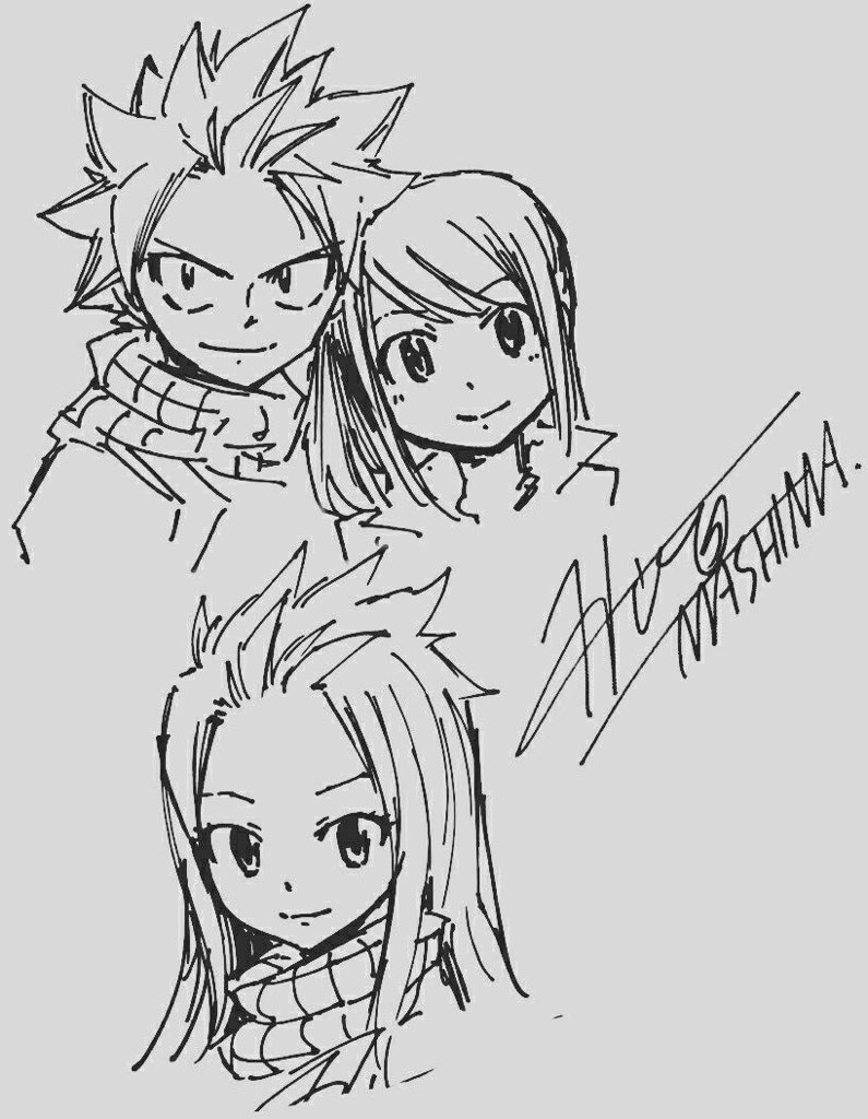 dragneel happy family   this HAS to happen   #FairyTail #Nalupic.twitter.com/C9WrqTq03Y