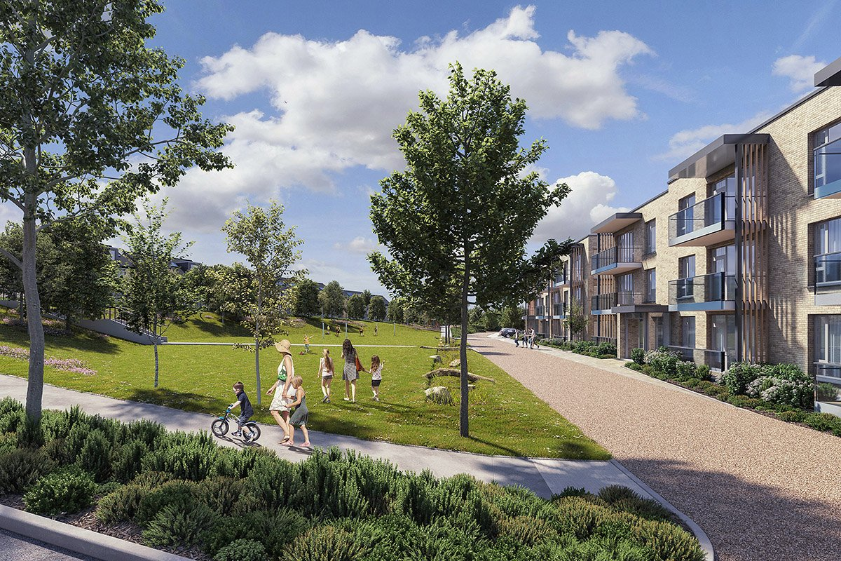 Green Light for 197 Homes in Kiltiernan, South Dublin 👏  An Bord Pleanála have given the green light for a major residential development on a site at Glenamuck Road, Enniskerry Road, Kiltiernan.  Details:   Software: #revit - #3dsmax + #vray - #photoshop