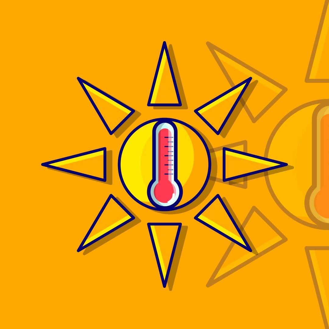 And the heat strikes again #hot #summer #sunillustration #inkscape #affinitydesigner #adobeillustrator #help #heat #vectorart #vectorgraphic #flatdesign #flatvectorpic.twitter.com/TPIpvkfJfM