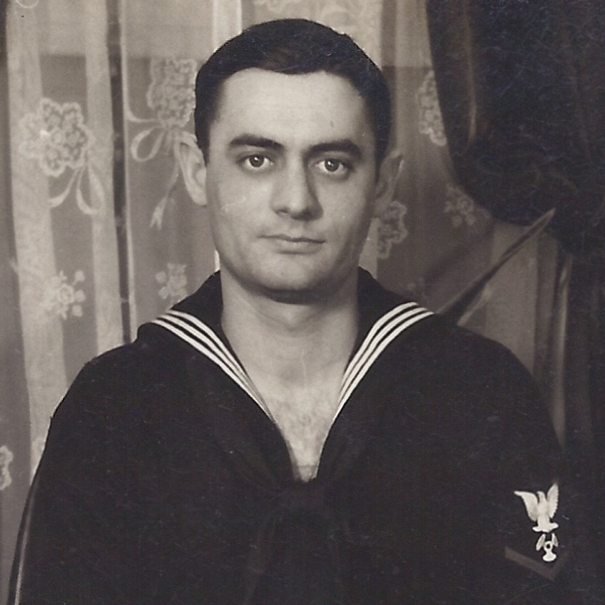 My #antifa father, Milton Sherman, #USNavy 1943-45 #AntifaFather Strongly opposed to Nazis and Fascists.