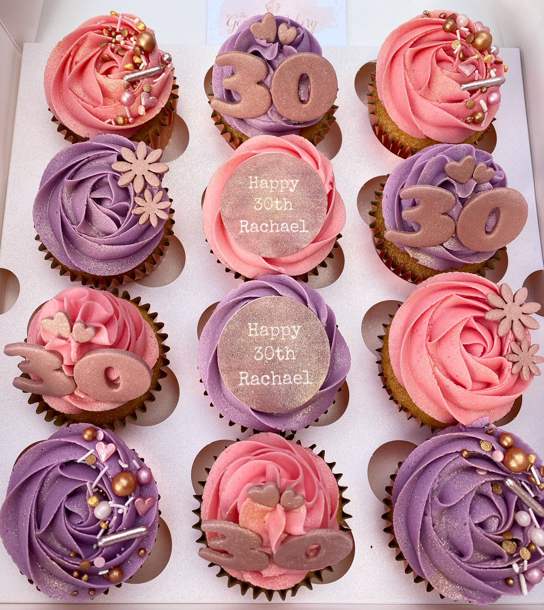 Love the colour of these ones😍💜💖 #thegourmetcakeryco #thegourmetcakeryco #cakes #cupcakes #rosegold #pink #purple #rosegoldcupcakes #sprinkles #cupcaketoppers #edibletoppers #bolton #boltoncakes #boltoncupcakes #manchetser #manchestercupcakes #manchestercakes #monday