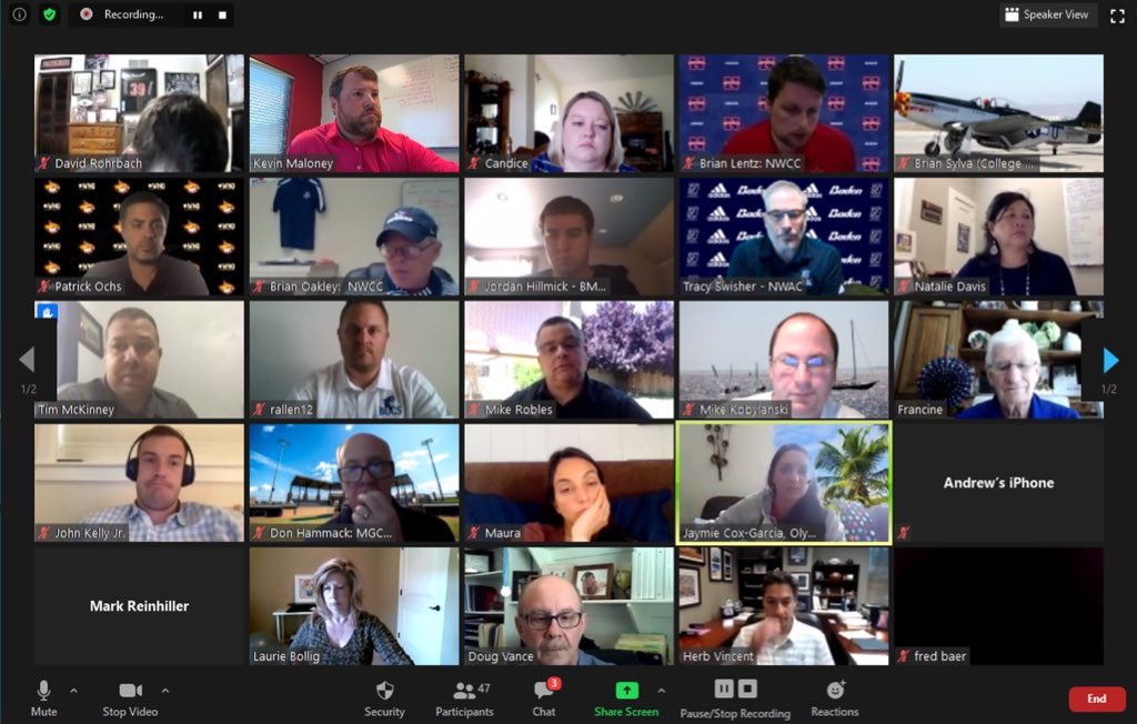 What a great way to kick off #CoSIDA2020! Nearly 50 participants for our #2YSIDA call and great input from across the country! Excited about the future of two-year programs. https://t.co/DiPTwz4Rv2