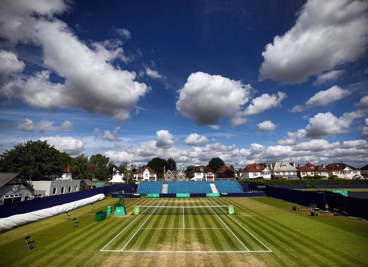 Today, the UK grass court season would have begun in Surbiton, London 🌱 Well miss it greatly, but were already looking forward to the next one 😊 📸: @the_LTA / Getty