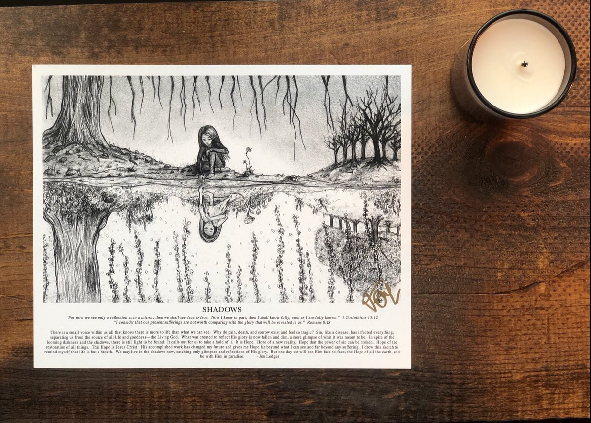 LEDGER ARTWORK • now available in 8x10 posters 🖤.  • Each is hand signed and includes an uplifting written paragraph explaining the heart behind each sketch • available here • https://t.co/EJIjtsKsOp https://t.co/YdIQvoQomP