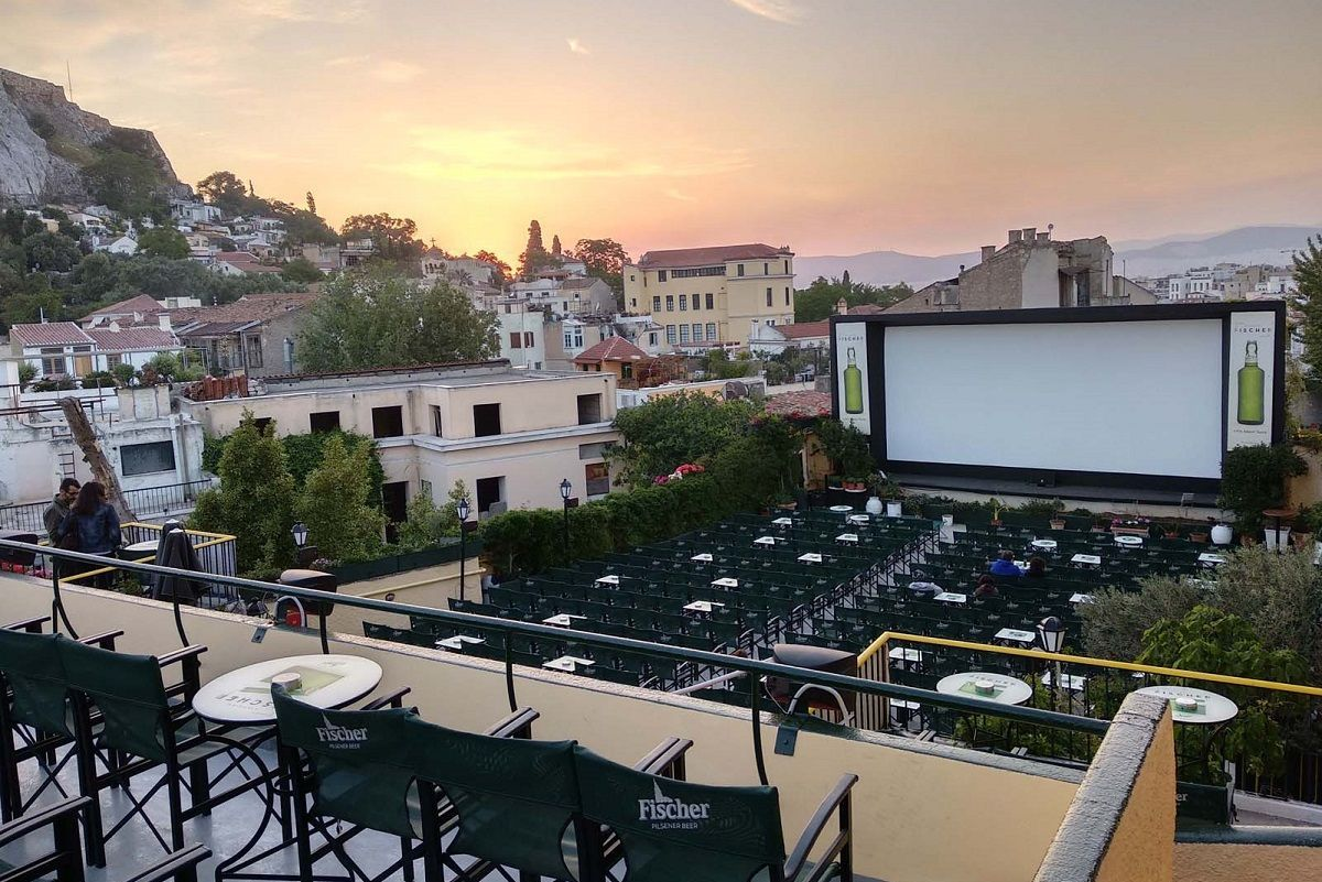 . #Greece's Outdoor #Cinemas Open Offering Post-covid-19 Relief https://buff.ly/2BgTDog #culture #therina #cinema #coronavirus #COVID_19 #COVID19Gr #COVID19Greece #PostCovid19 #ttotpic.twitter.com/VMU3TYqWms