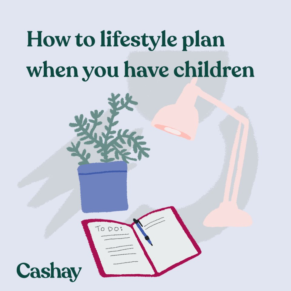 How to plan your lifestyle when you start having children